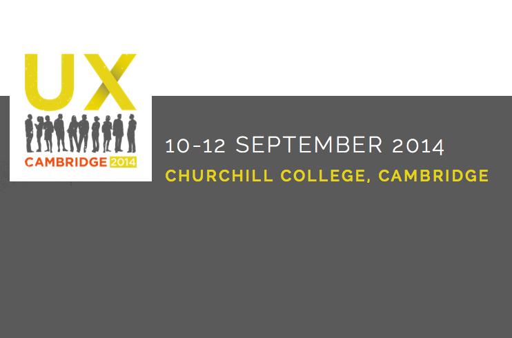Akendi at UX Cambridge 2014 Cambridge, UK