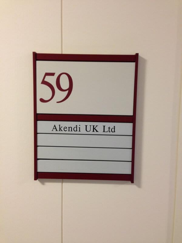 Akendi UK office in Cambridge