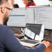Front end code development by Akendi