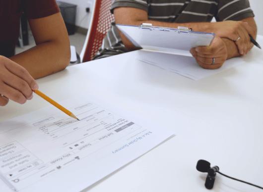 Akendi usability testing